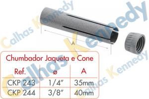 Acessórios para Perfilados - Chumbador Jaqueta e Cone
