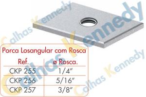 Acessórios para Perfilados - Porca Losangular com Rosca
