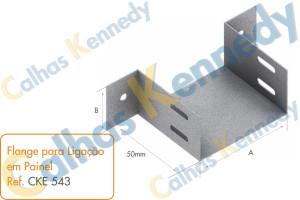 Acessórios para Eletrocalhas - Flange para Ligação em Painel
