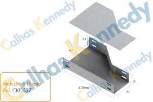 Acessórios para Eletrocalhas - Reducao à Direita