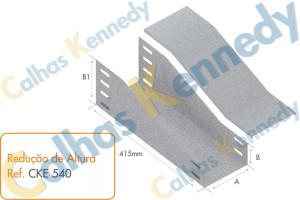 Acessórios para Eletrocalhas - Redução de Altura