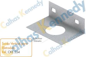 Acessórios para Eletrocalhas - Saída Vertical para Eletroduto