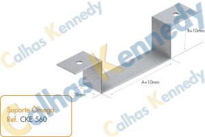 Acessórios para Eletrocalhas - Suporte Ômega