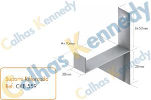 Acessórios para Eletrocalhas - Suporte Reforçado