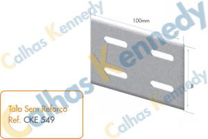 Acessórios para Eletrocalhas - Tala sem Reforço