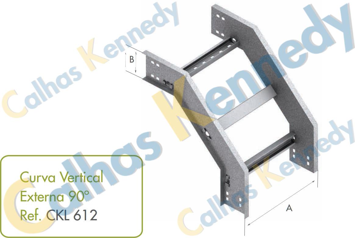 Acess rios de leitos para cabos eletrocalhas kennedy for Curva vertical exterior 90