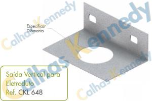 Saída Vertical para Eletroduto